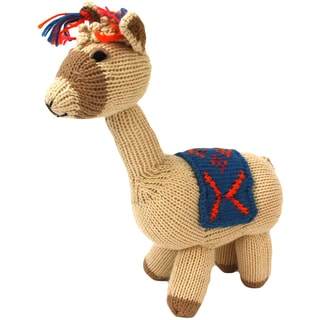 Cotton Llama Stuffed Animal (Peru)
