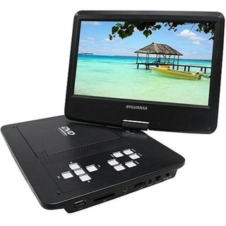 Sylvania 10.1in Portable DVD Player, Swivel Screen (Refurbished)
