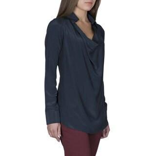 Robert Talbott Women's Silk Long-Sleeve Blouse