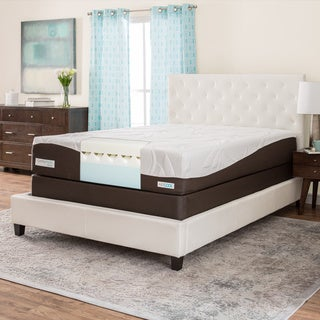 ComforPedic from Beautyrest 12-inch Full-size Memory Foam Mattress Set