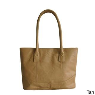 Amerileather Casual Travel Tote Bag (Option: Tan)