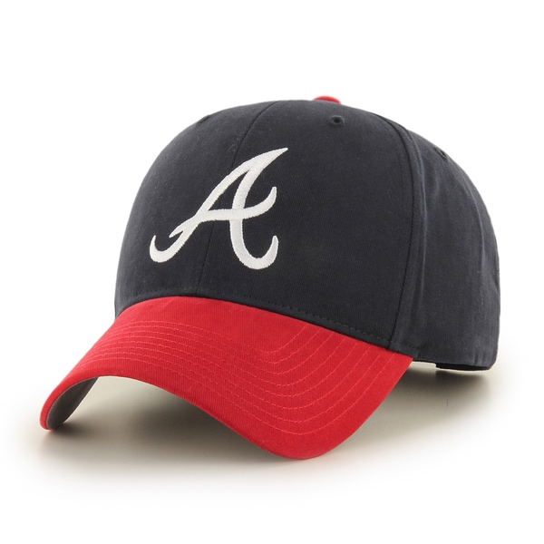 huge selection of 2637d cc94f 47 Brand Atlanta Braves MLB Basic Hook and Loop Hat