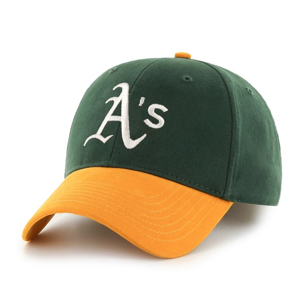 huge selection of 543a7 c4c4d Shop 47 Brand Oakland Athletics MLB Basic Hook and Loop Hat - Free Shipping  On Orders Over  45 - Overstock - 10949035