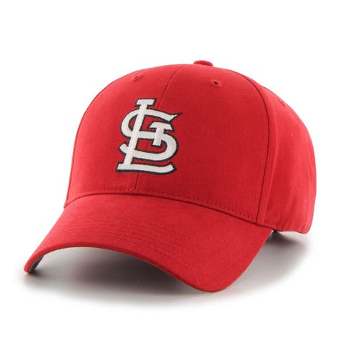 e197c02e1f3c4 47 Brand St. Louis Cardinals MLB Basic Hook and Loop Hat