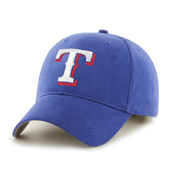 47 Brand Texas Rangers MLB Basic Hook and Loop Hat