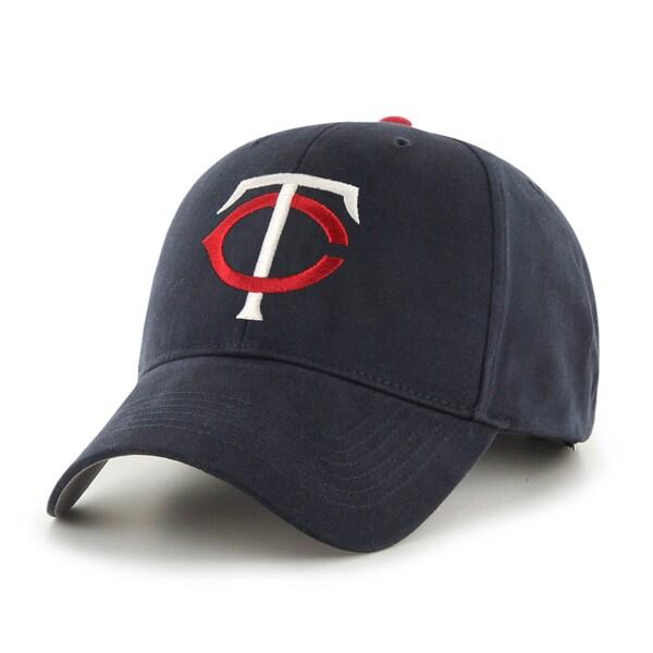 56becefd32abfe Shop 47 Brand Minnesota Twins MLB Basic Hook and Loop Hat - Free ...