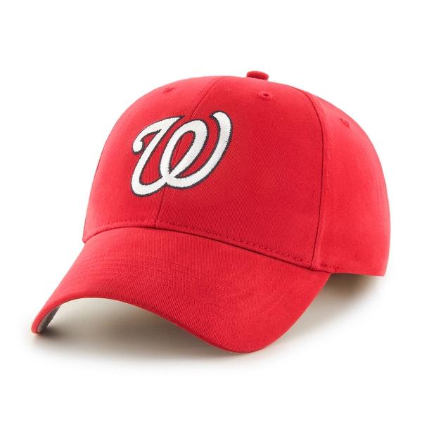 47 Brand Washington Nationals MLB Basic Hook and Loop Hat