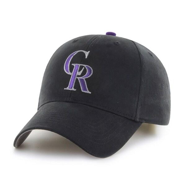 47 Brand Colorado Rockies MLB Basic Hook and Loop Hat