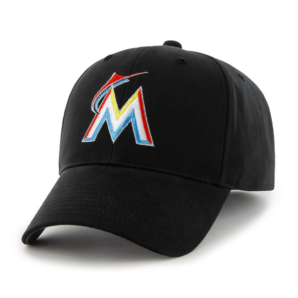 47 Brand Miami Marlins MLB Basic Hook and Loop Hat