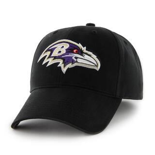 wholesale dealer 8550e 886aa 47 Brand Baltimore Ravens NFL Basic Hook and Loop Hat