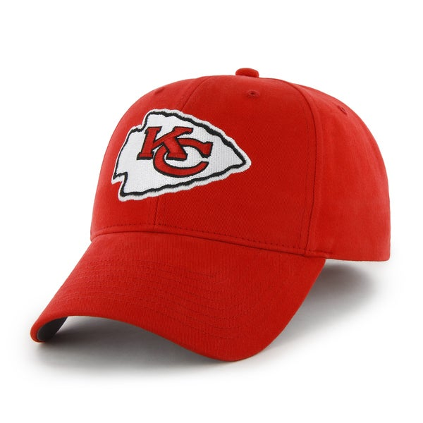 47 Brand Kansas City Chiefs NFL Basic Hook and Loop Hat