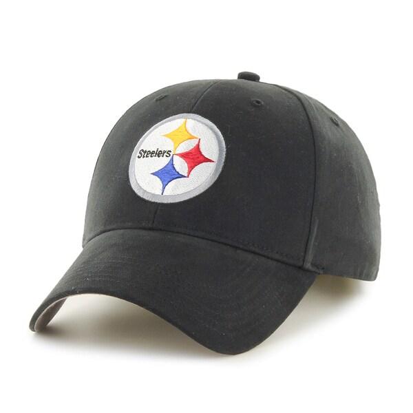 47 Brand Pittsburgh Steelers NFL Basic Hook and Loop Hat