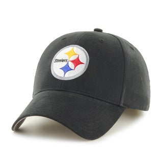 47 Brand Pittsburgh Steelers NFL Basic Hook and Loop Hat