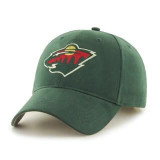 47 Brand Minnesota Wild NHL Basic Hook and Loop Hat