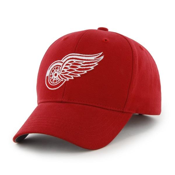47 Brand Detroit Red Wings NHL Basic Hook and Loop Hat