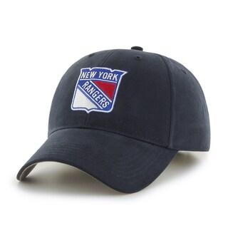 47 Brand New York Rangers NHL Basic Hook and Loop Hat