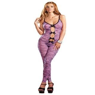 Zebra Print Bodystocking