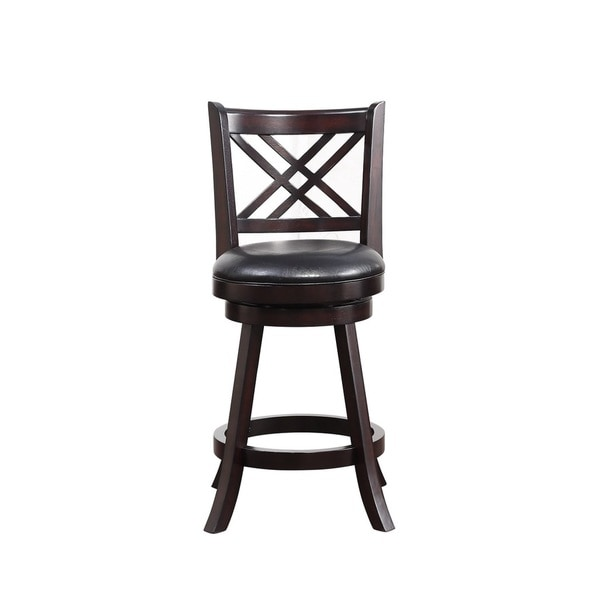 Shop 24 Inch Porto Swivel Counter Stool Free Shipping