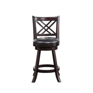 24-inch Porto Swivel Counter Stool