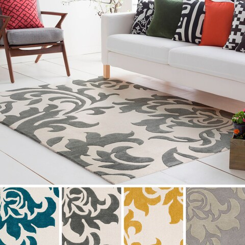 Hand-Tufted Cleo Wool / Viscose Rug - 4' x 6'
