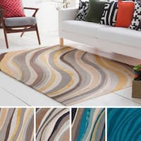 Hand-Tufted Kaci Wool / Viscose Rug - 5' x 8'