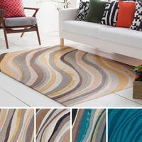 Hand-Tufted Kaci Wool / Viscose Rug - 4' x 6'
