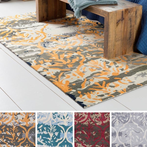 Shop Strick Amp Bolton Medley Hand Tufted Wool And Viscose