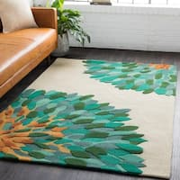 Hand-Tufted Lulu Wool Area Rug - 9' x 13'