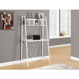 Computer Desk, 32 Inches Long, White Top