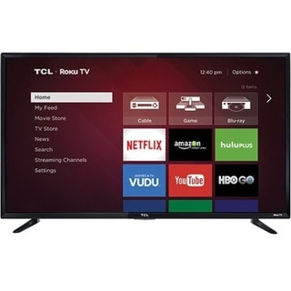 "TCL 48FS3750 48"" 1080p LED-LCD TV - 16:9 - HDTV 1080p - High Glossy B"