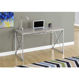 48 Inches Long, Dark Taupe Computer Desk
