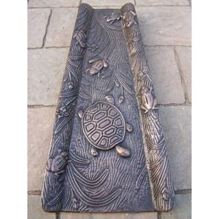 Premium Splash Block - Cast Aluminum (Option: Bronze)