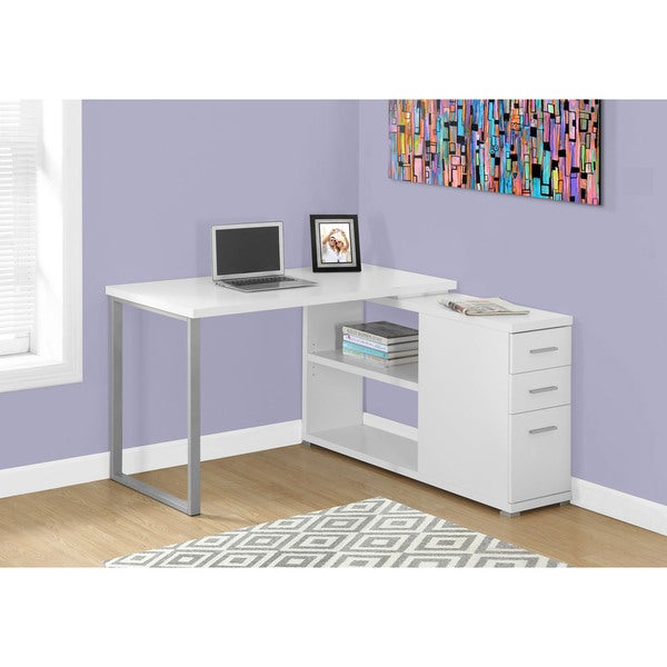 Corner Computer Desk - Free Shipping Today - Overstock.com - 17976073