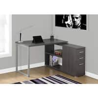 Grey Left or Right Facing Computer Desk