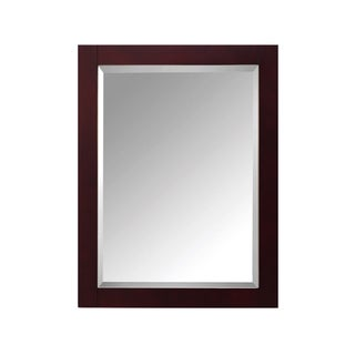 Avanity 24-inch. Mirror for Modero in Espresso Finish