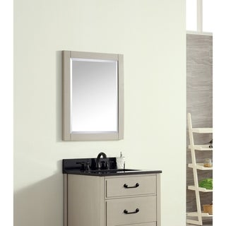 Avanity 24 in. Mirror for Delano in Taupe Glaze finish