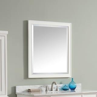 Avanity Madison 28 inch Mirror in White Finish