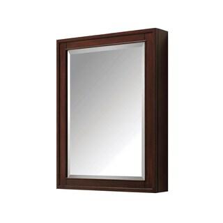 Avanity Madison 24 inch-Mirror Cabinet in Light Espresso