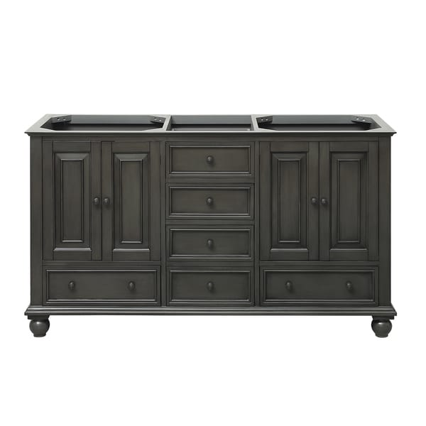 Incroyable Avanity Thompson 60 Inch Double Sink Vanity Only