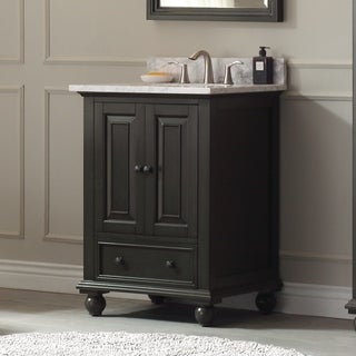 Avanity Thompson 25-inch Vanity Combo in Charcoal Glaze finish