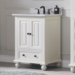 Avanity Thompson 25-inch Vanity Combo in French White finish
