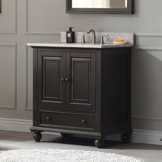 Avanity Thompson 31-inch Vanity Combo in Charcoal Glaze finish