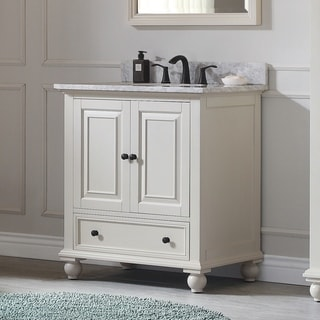 Avanity Thompson 31-inch Vanity Combo in French White finish