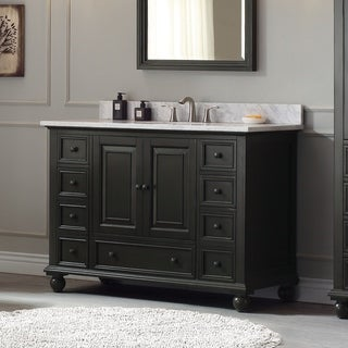 Avanity Thompson 49-inch Vanity Combo in Charcoal Glaze finish