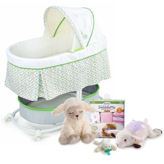 Summer Infant Sweeter Dreams Little Lamb Bassinet and Soothing Sleep Aids