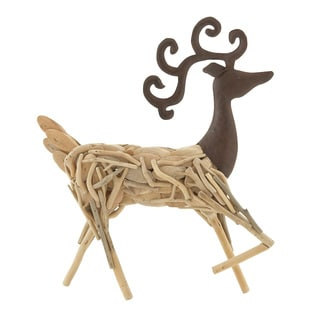 Wood Metal Deer