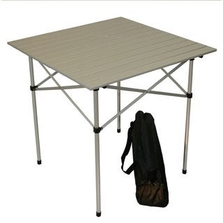 Silver Color Aluminum Portable Table in a Bag