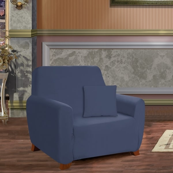Elegant Comfort Jersey Stretch Chair Slipcover. Opens flyout.