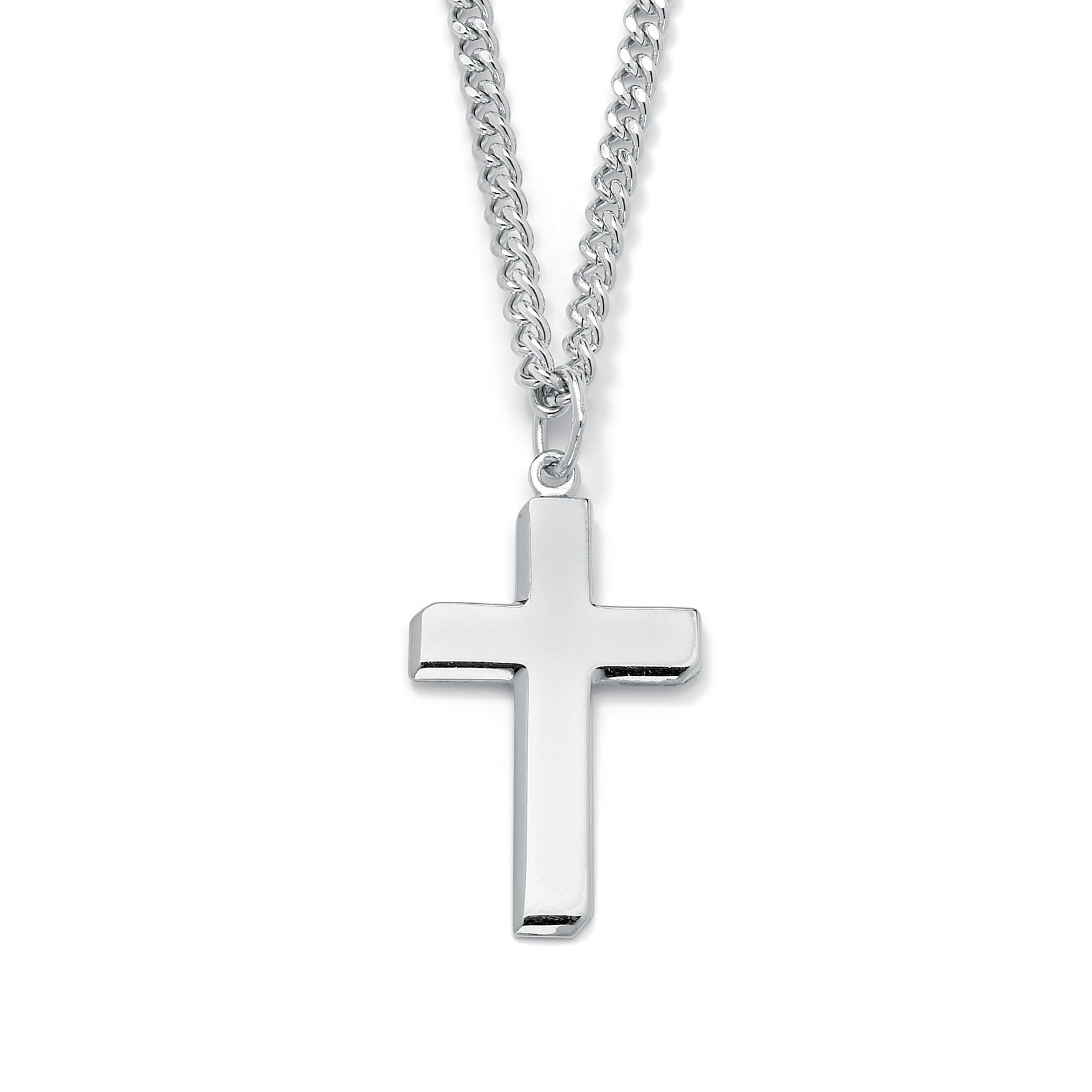 6e6d3af40 Buy 24 Inch, Sterling Silver Men's Necklaces Online at Overstock | Our Best Men's  Jewelry Deals