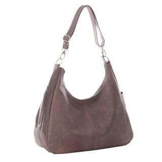 Piel Leather Large Crossbody/Hobo Shoulder Handbag